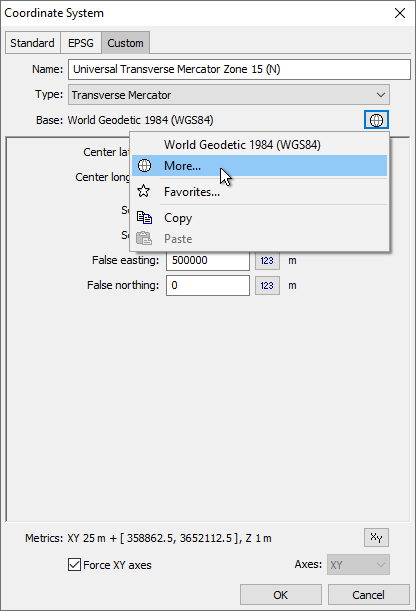 Example: Import ERDAS GIS with GDAL and Assign Coordinate System