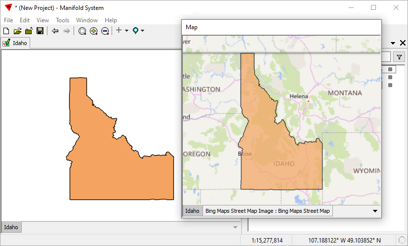 Example: Import Shapefile and Create a Map