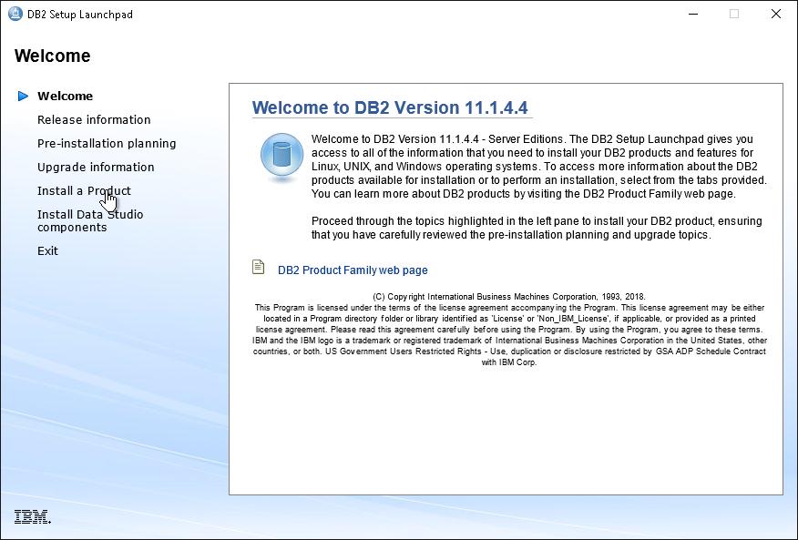 Install Db2