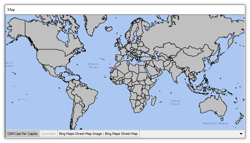 Example: Create a Map Showing OSM Use by Country