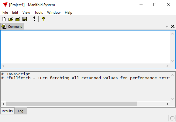 Example: Run JavaScript in the Command Window