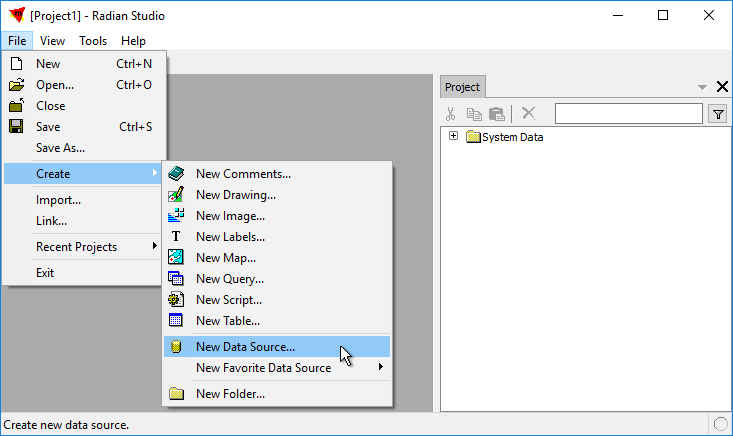 Example: Connect to an ESRI GDB File Geodatabase