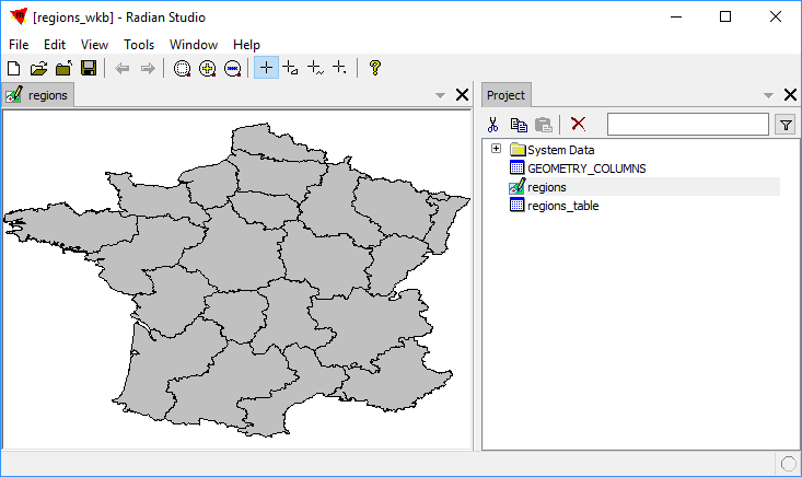 Example: Connect to Manifold from QGIS