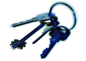 Keys protect property rights