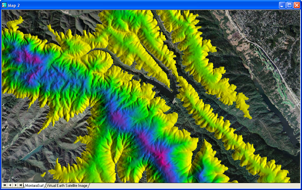 Manifold Software GIS And Database Tools - Google maps elevation layer