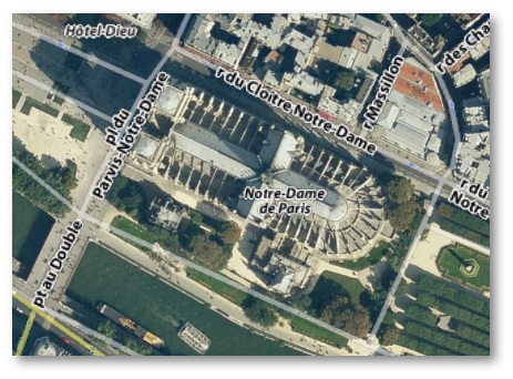 yahoo transparent street map over virtual earth satellite image map view