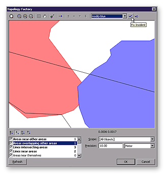 Topology factory dialog